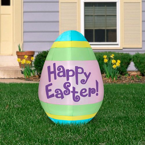 5.5' Airblown Inflatable Easter Egg