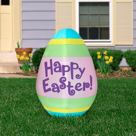 5.5' Airblown Inflatable Easter Egg by Gemmy Industries ()