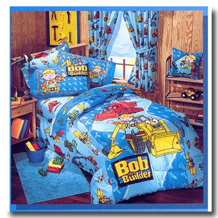 - (119558) Dan River Bob The Builder Twin Bedskirt (39x75) - CLOSE OUT PRICING!