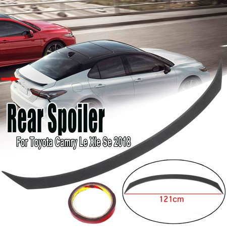 Rear ABS Plastic Trunk Lid Spoiler Wing Lip For Toyota Camry 2018 Le Xle
