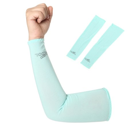 Unisex Outdoor Sports Arm Sleeves Breathable UV Protective Basketball Cycling Oversleeve Arm Warmers (Cycling Warmers)