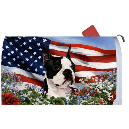 Boston Terrier - Best of Breed Patriotic I Dog Breed Mail Box
