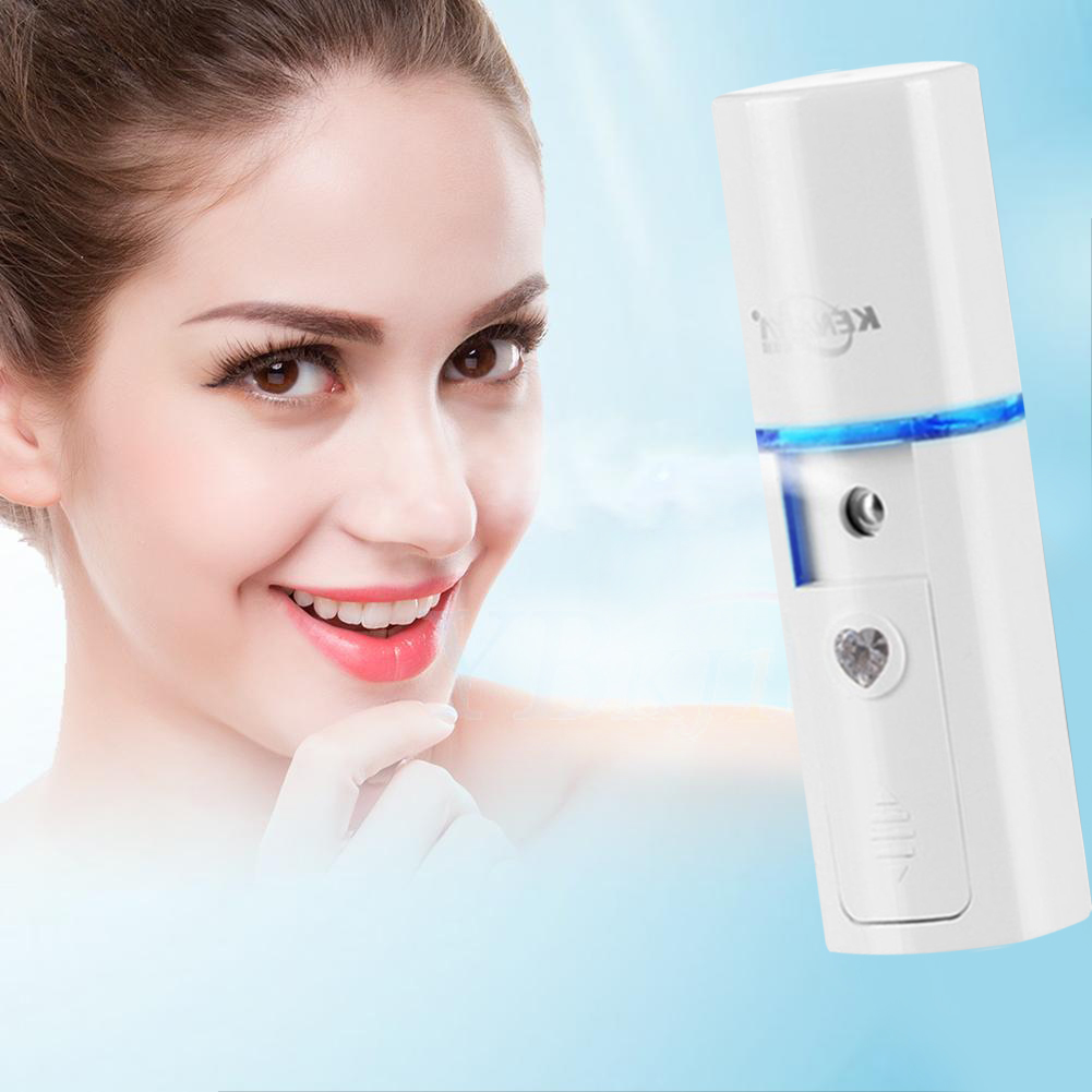 Facial Mist Spray, Face Mist, Compact Handheld Facial Skin Cleaning Nano Sprayer Moisturizing Facial Steamer