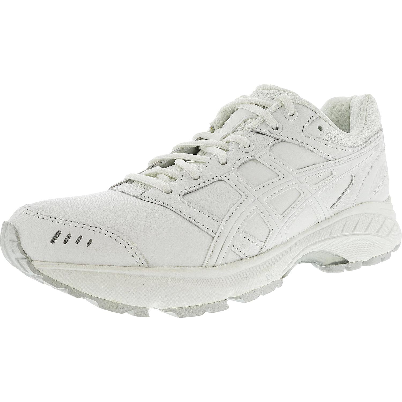 ASICS Asics Women's Gel Foundation Walker 3 WhiteSilver Ankle High Leather Walking Shoe 8W