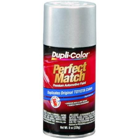 Dupli-Color (BTY1617-6 PK) Classic Silver Mica Toyota Exact-Match Automotive Paint - 8 oz. Aerosol, (Case of (How To Spray Paint Sunglasses)