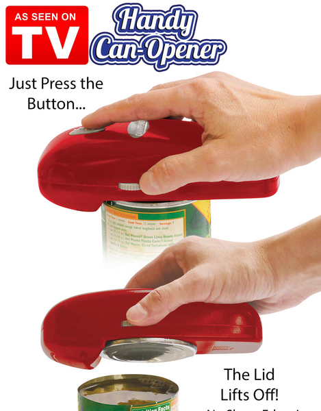 Hand Held Button Can Opener by TV PRODUCTS
