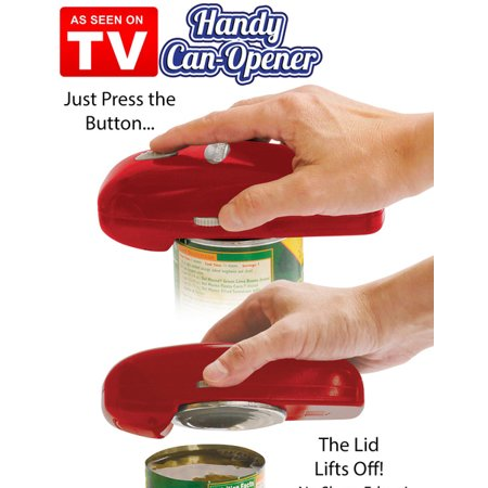 Hand Held Button Can Opener by