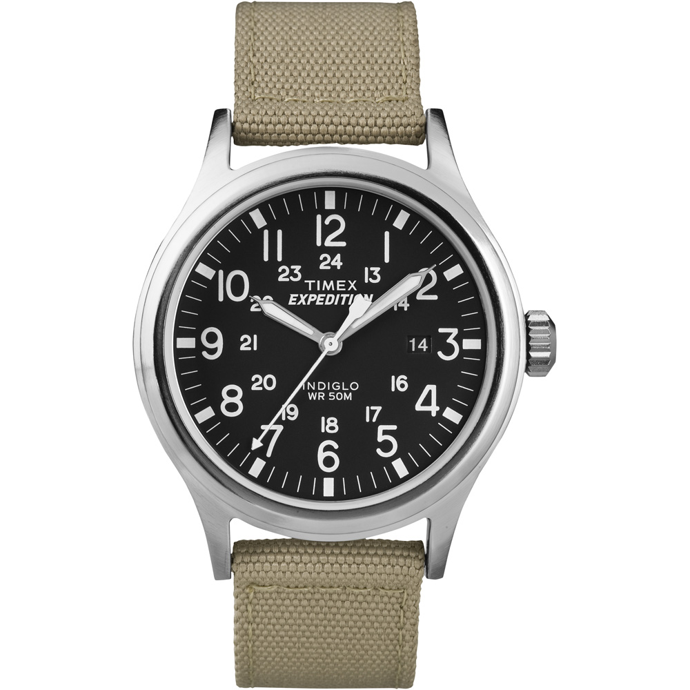 TIMEX EXPEDITION SCOUT METAL WATCH KHAKI by Timex Corporation