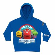 Personalized Chuggington Traintastic Crew Little Boys' Royal Blue Hoodie