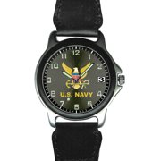 US Navy Nylon and Silver Watch