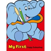 My First Copy Colouring: Elephant