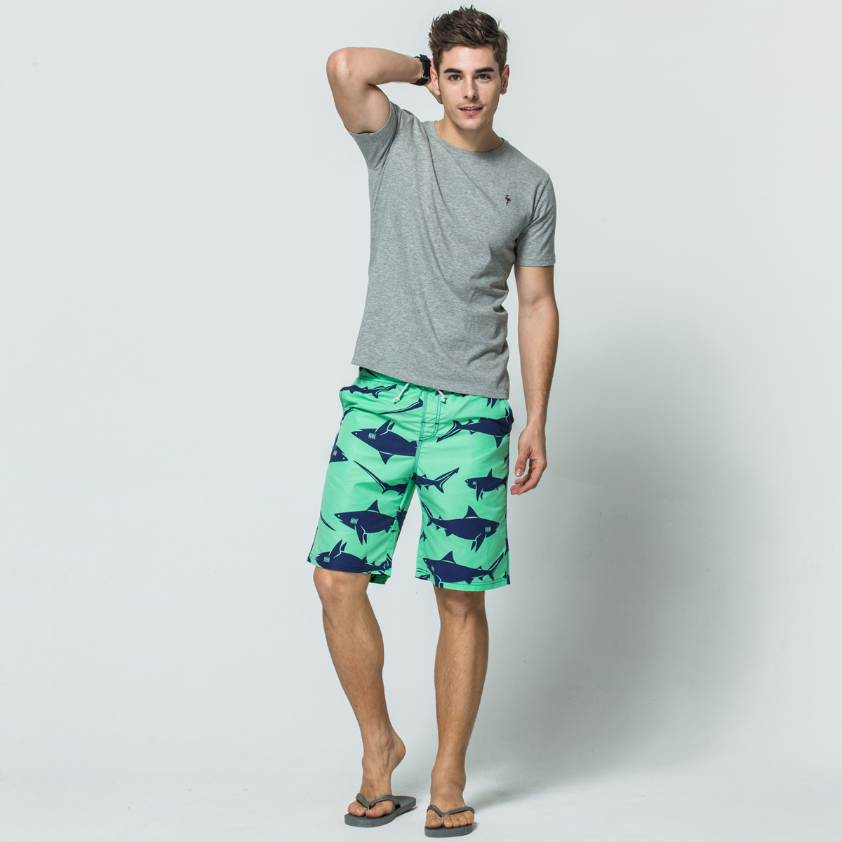 WIHVE Mens Swim Trunks Electric Guitars Quick Dry Beach Board Short with Mesh Lining