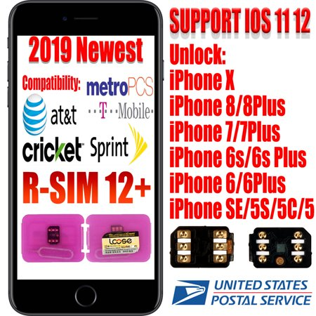Dazone Unlock Turbo Sim Card GPP for iPhone XS/8/7/6/6S 4G LTE IOS 12 11  SIM Card Kit - AT&T