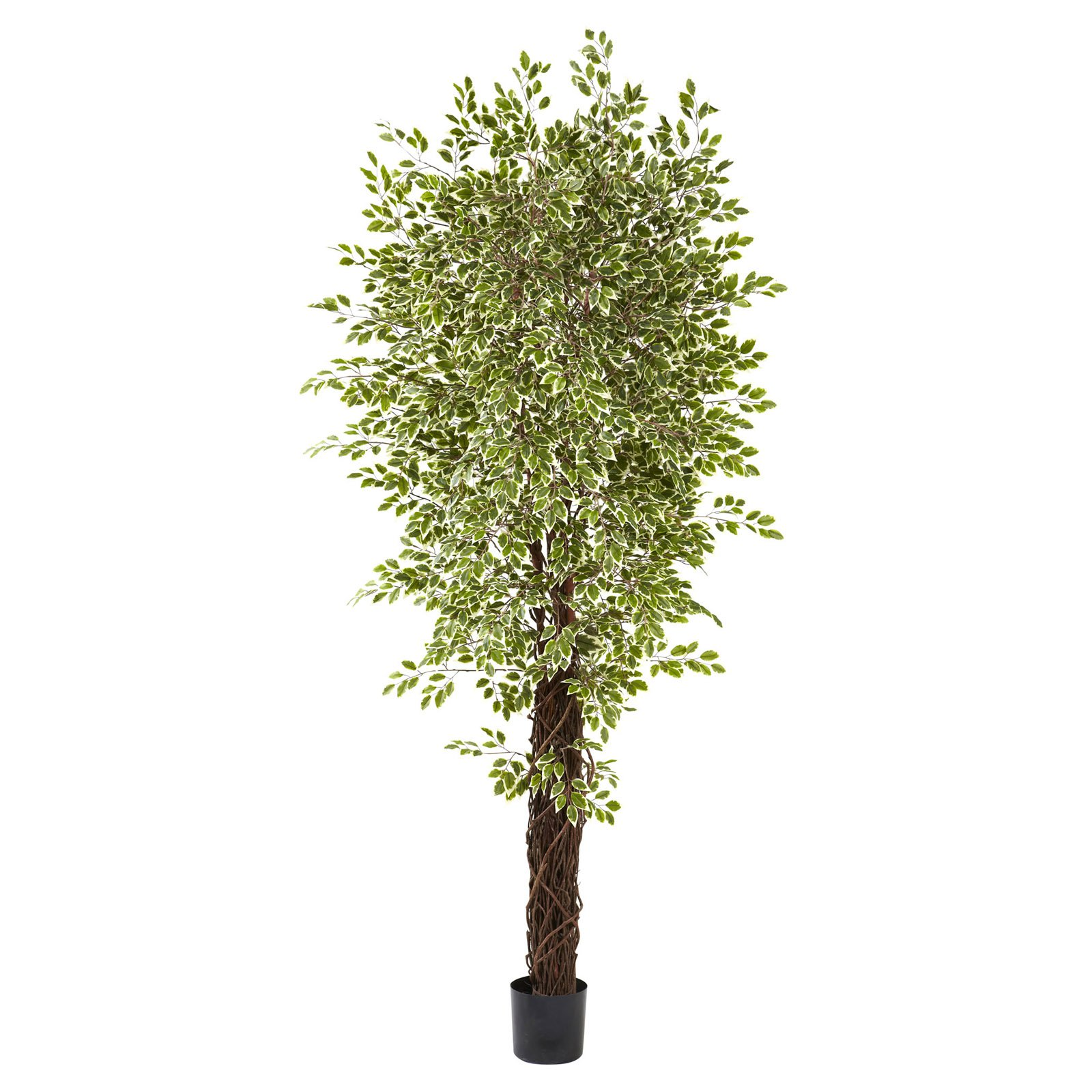 Nearly Natural 7.5 ft. Ficus Silk Tree