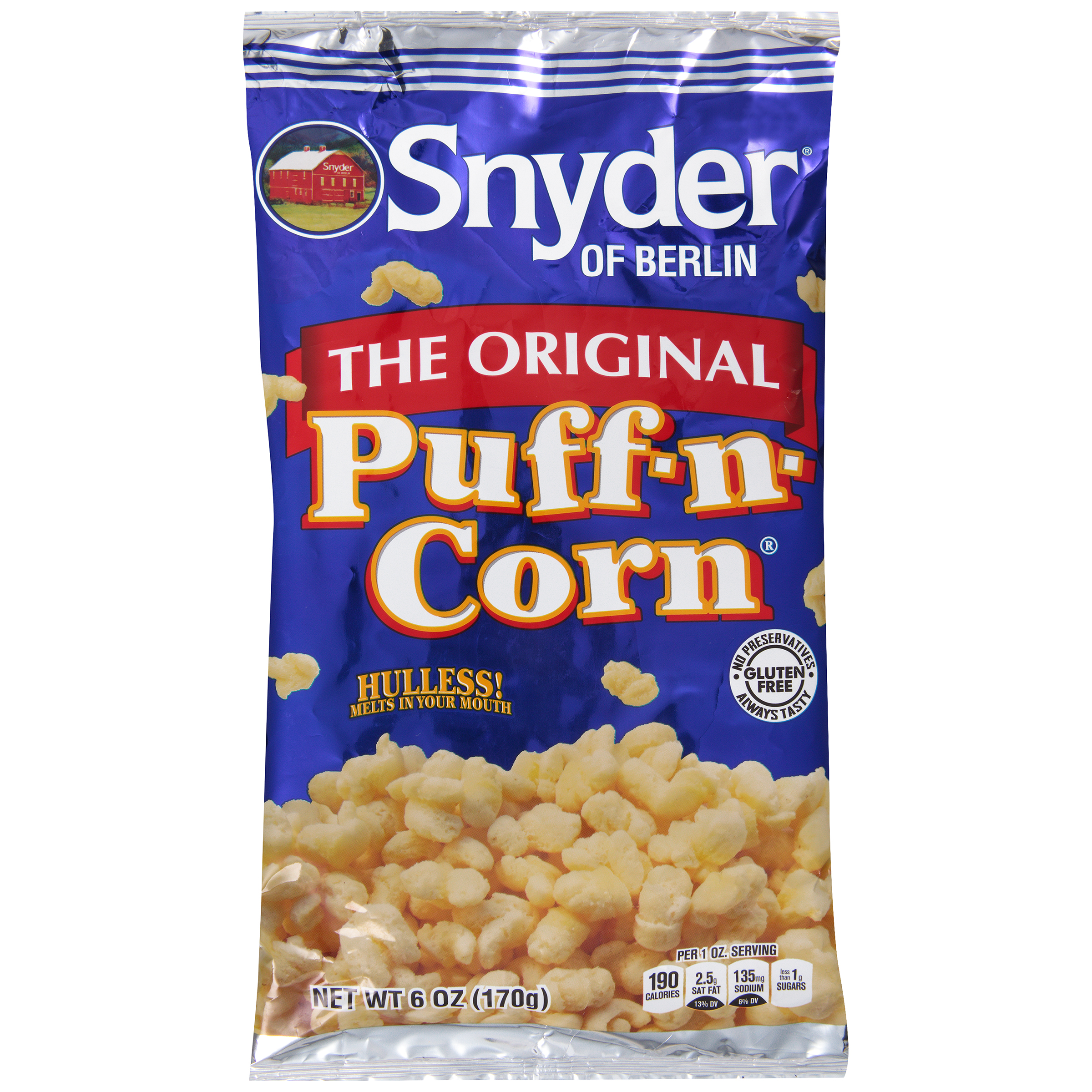 Snyder of Berlin�� Original Puff-n-Corn�� 6 oz. Bag