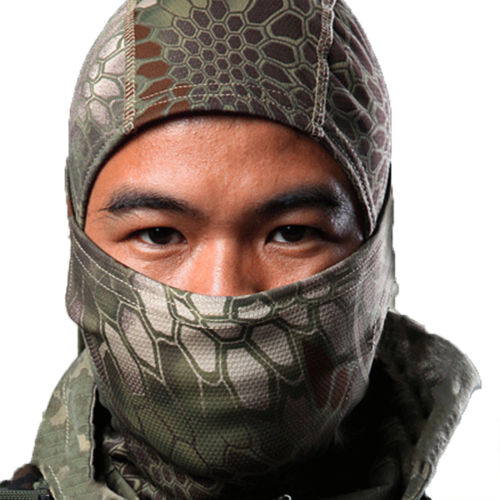 Motorcycle Balaclava Camouflage Army Winter Ski Bike Tactical Full Face Mask Hat by