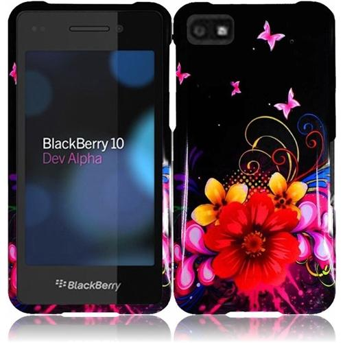 Insten For Blackberry Z10 Design Case Delusional Flower