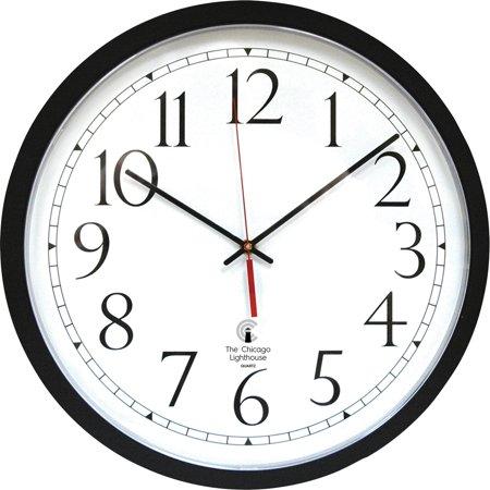 Chicago Lighthouse, ILC67400603, Self-set Clock, 1 (Round Set Clock)