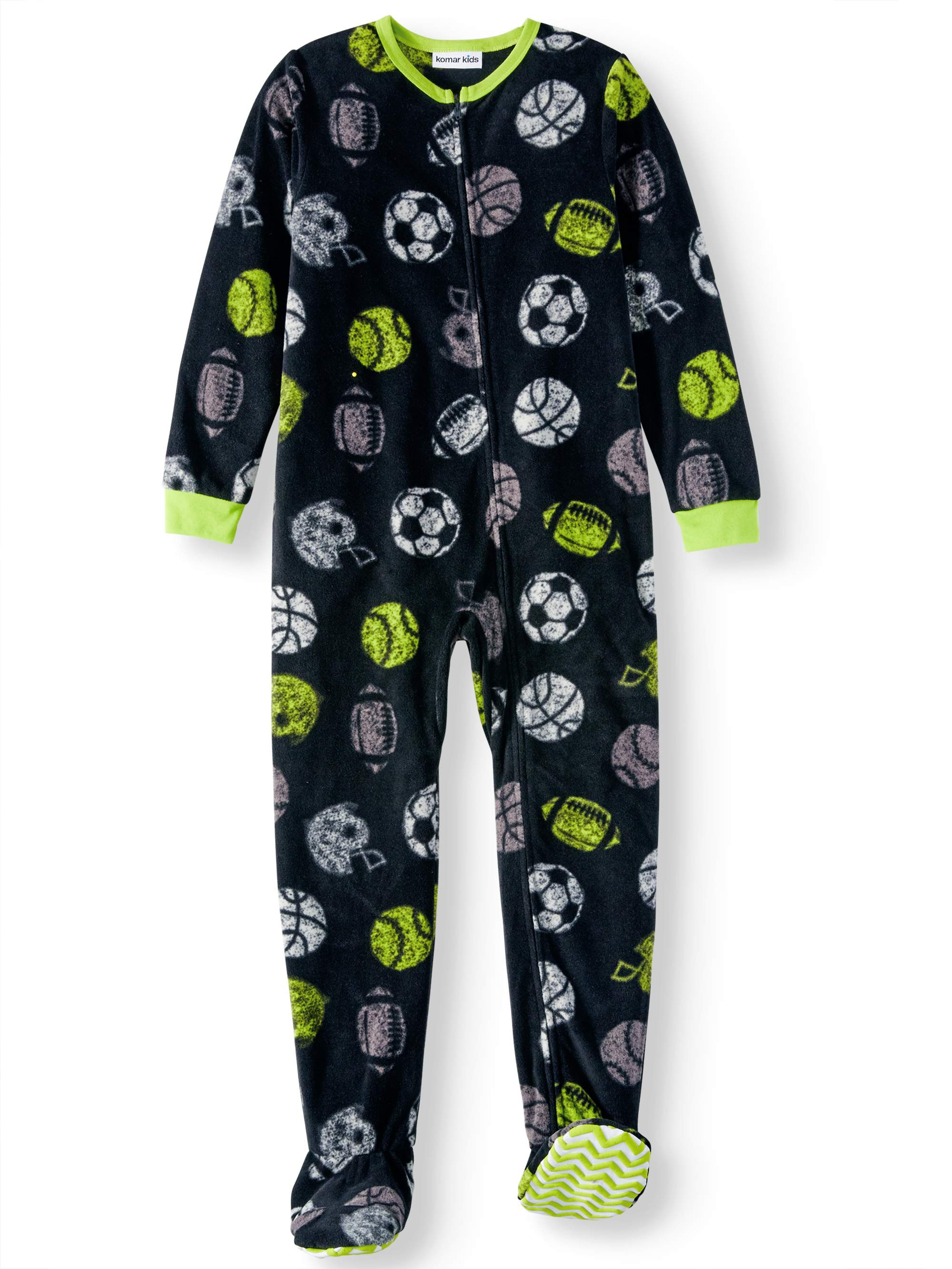 Boys' Sports Footed Pajama Sleeper (Little Boys & Big Boys)