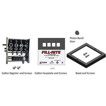 FILL-RITE KIT900GR Register and Faceplate -
