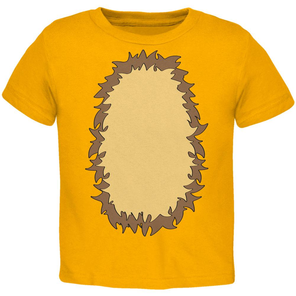 Halloween Lion Costume Toddler T Shirt