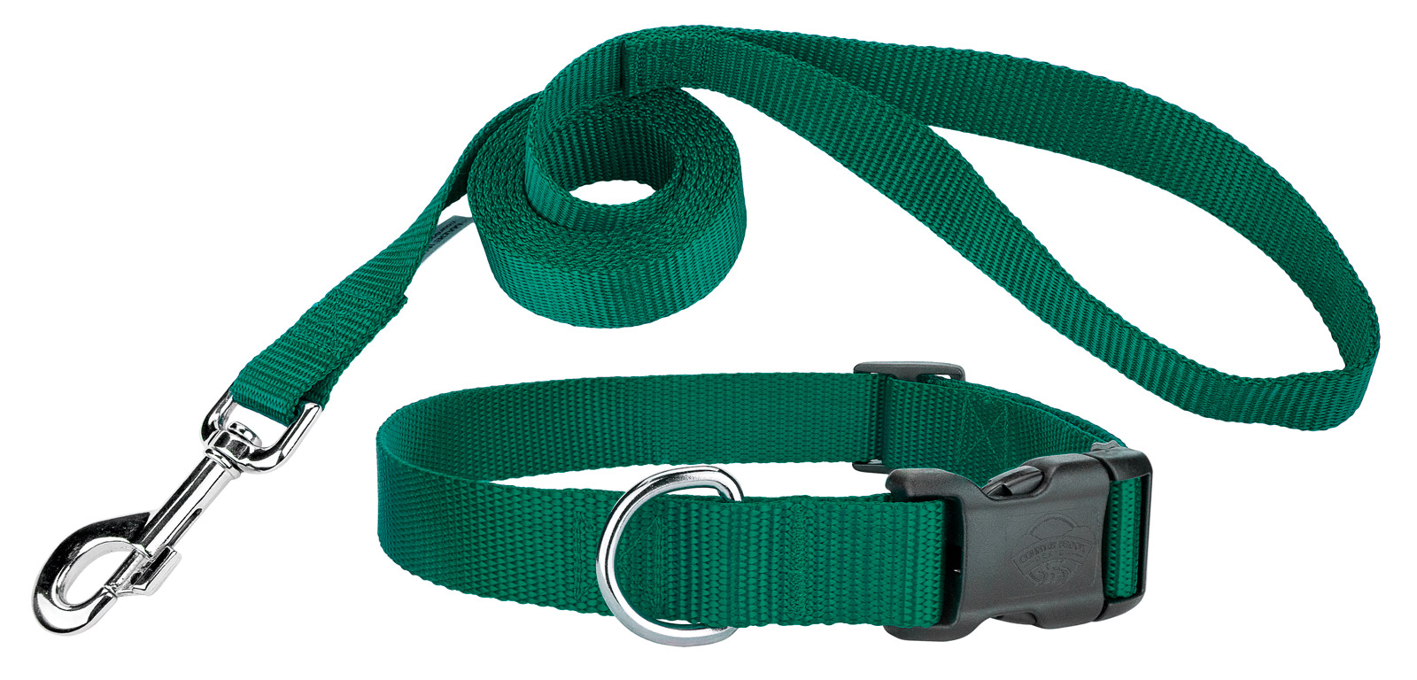 Country Brook Design Deluxe Nylon Dog Collar and Leash by Country Brook Design