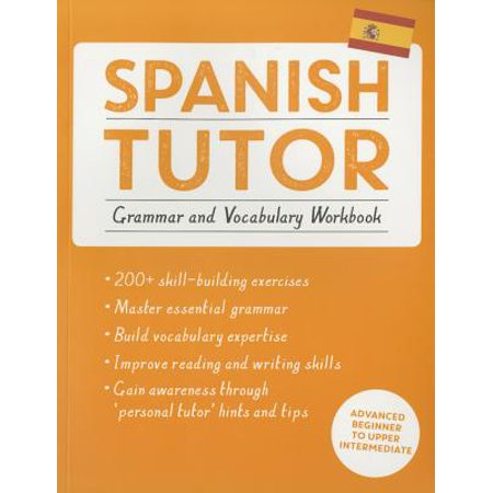 Spanish Tutor: Grammar and Vocabulary Workbook (Learn Spanish with Teach Yourself) : Advanced beginner to upper intermediate course - Items In Spanish
