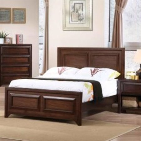 Coaster Greenough Full Panel Bed in Maple Oak