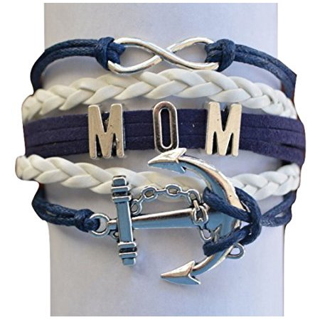 Mom Bracelet- Mom Jewelry - Nautical Bracelet, Perfect Gift For Moms - Nautical Jewelry