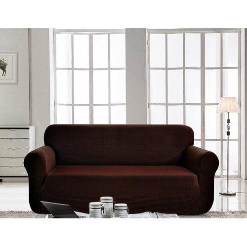 Red Barrel Studio Box Cushion Loveseat Slipcover