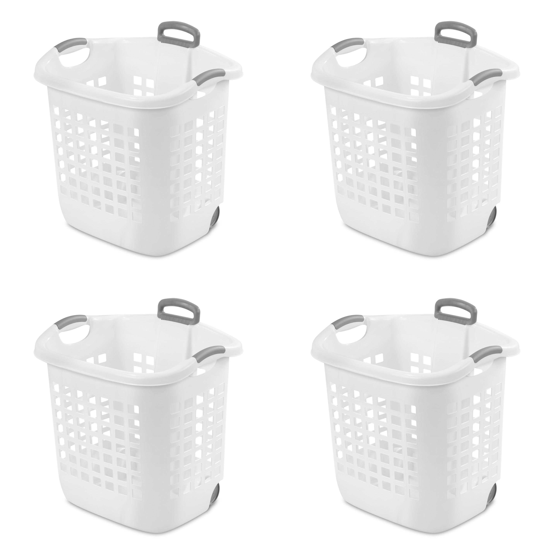 Palm Luxe Collection Gray Superio Brand 505-506-507 Superio Laundry Hamper 1.4 Bushel