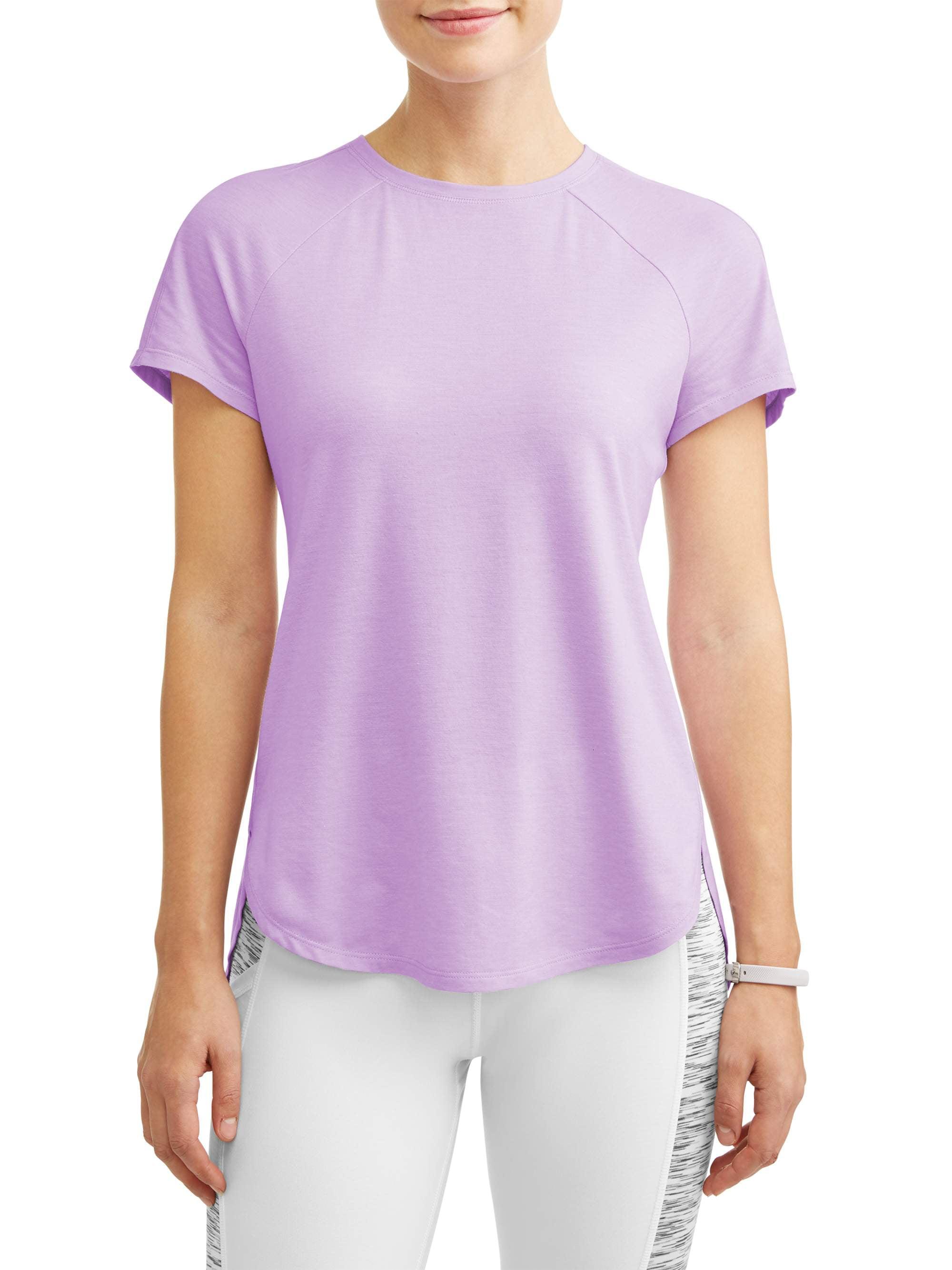 67af2dbfd Avia - Women's Core Active Short Sleeve Tunic Length Performance T-Shirt -  Walmart.com