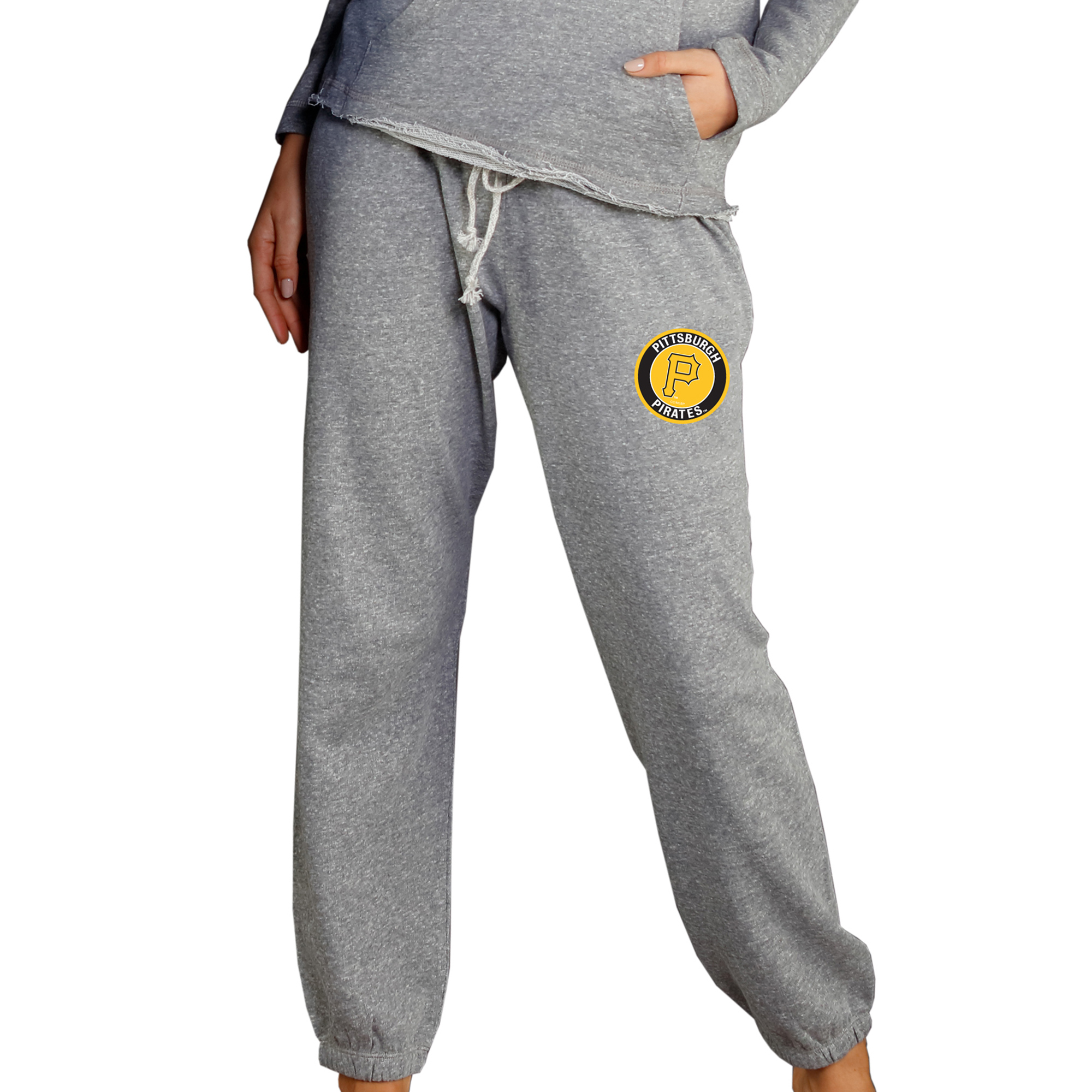 Pittsburgh Pirates Concepts Sport Women's Mainstream Knit Pants - Gray