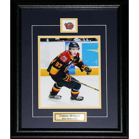 Connor McDavid Erie Otters 8x10 OHL Hockey Memorabilia Collector Frame