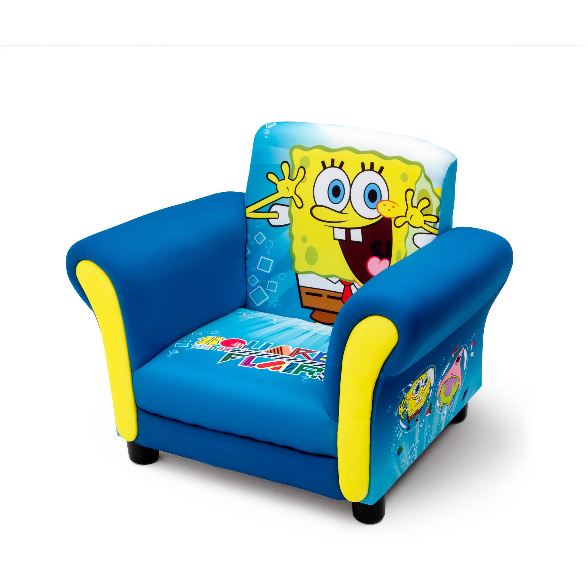 Delta Children\'s Products Nickelodeon SpongeBob Upholstered Chair ...
