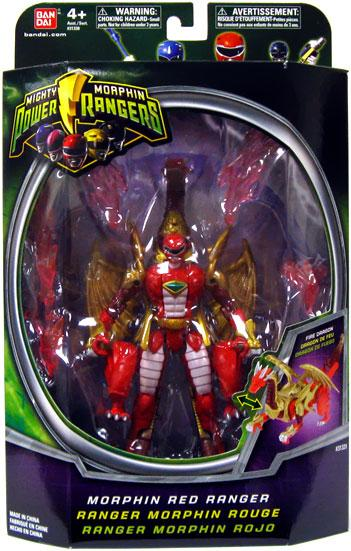 Power Rangers Mighty Morphin Morphin Red Ranger Action Figure by