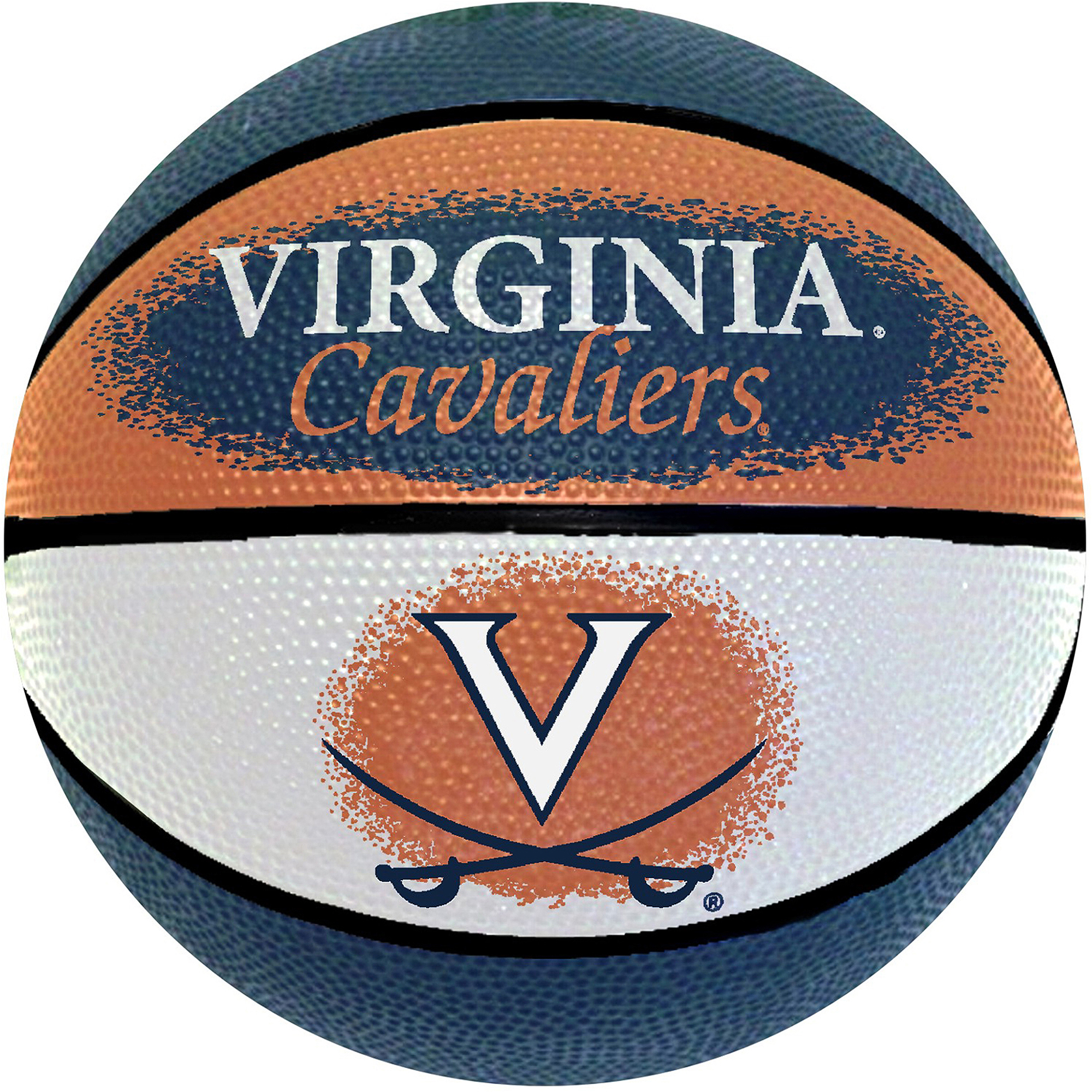 "Game Master NCAA 7"" Mini Basketball, Virginia University Cavaliers"