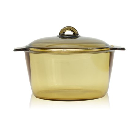 Luminarc France Amberline Blooming Heat-resistant Glass Casserole Cooking Pot