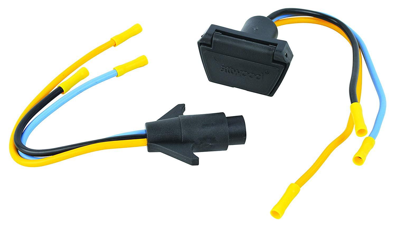 Attwood 7622 7 3 Wire 12v 24v Trolling Motor Connector 10 Gauge Walmart Com Walmart Com
