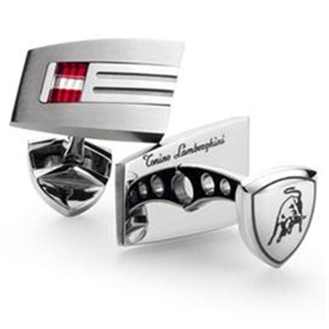 Visol TCL005000 Lamborghini Corsa Titanium Cufflinks - image 1 of 1