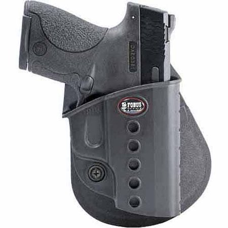 - Fobus Right-Handed Ankle Holster for Walther PPS, CZ 97B, Taurus PT-709 Slim