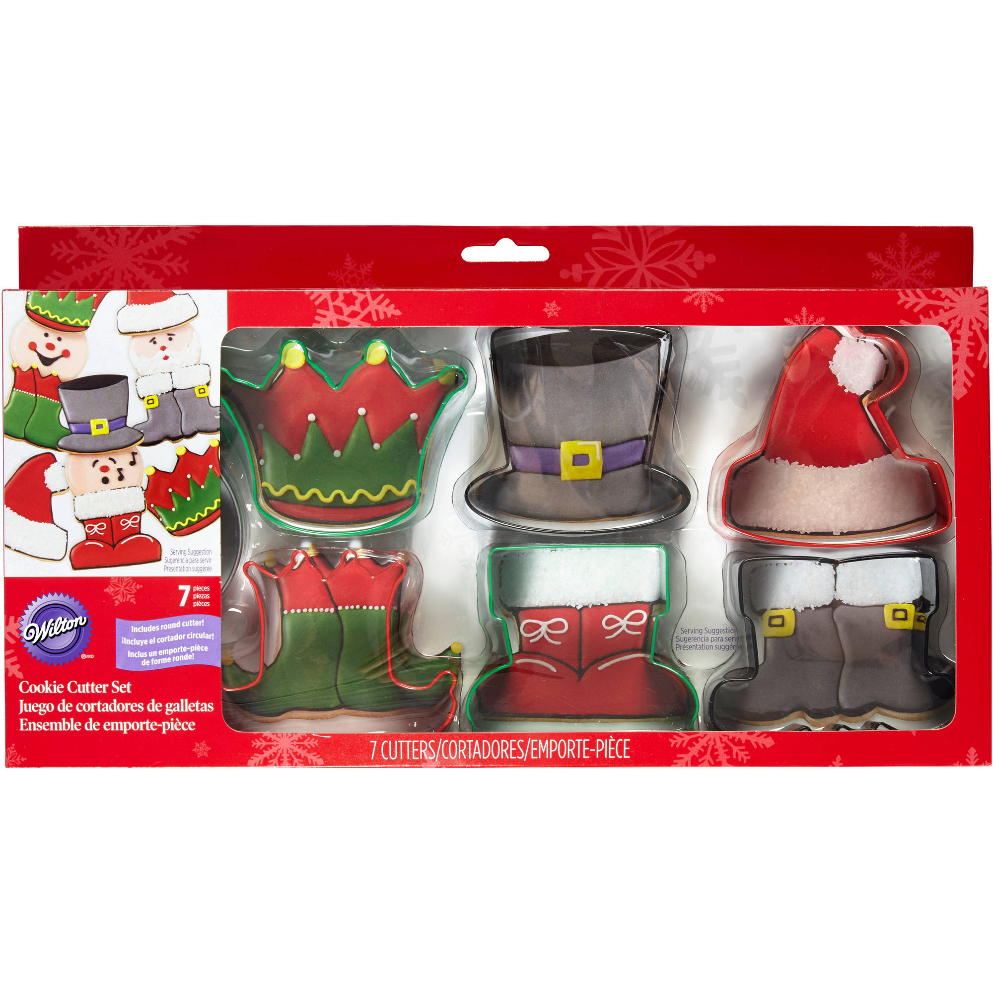 Wilton Cookie Cutter Box Set, Characters 7 ct. 2308-3274