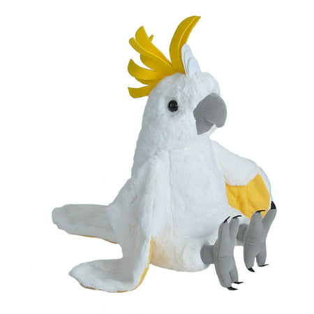 Cuddlekins Cockatoo Plush Stuffed Animal by Wild Republic, Kid Gifts, Bird Plush, 12 Inches