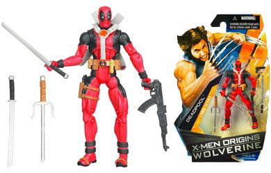 X-Men Origins Wolverine Comic Series 3 3 4 Inch Action Figure Deadpool by X-Men Wolverine by