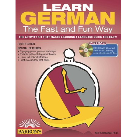 - Learn German the Fast and Fun Way with MP3 CD