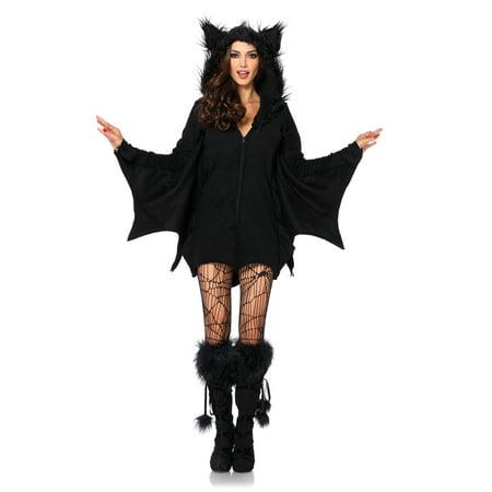 H&m Halloween Bat (Leg Avenue Women's Cozy Black Bat Halloween)