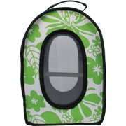 A and E Cage Co. Soft Sided Travel Bird Carrier Green Small