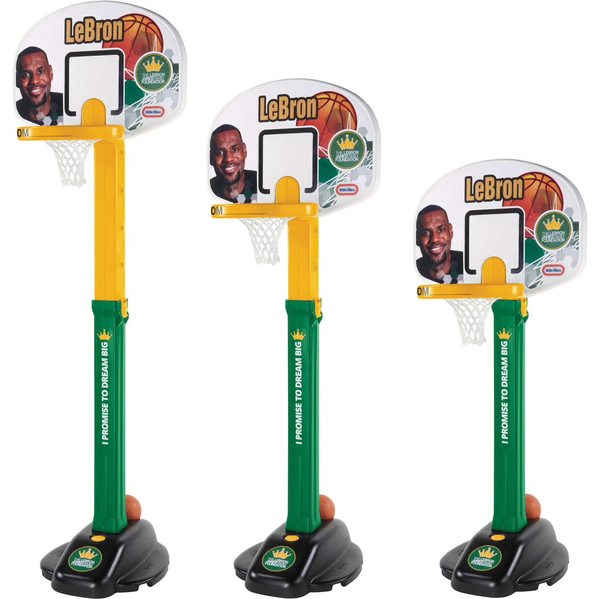 Little Tikes LeBron James Family Foundation Dream Big Basketball Set ...