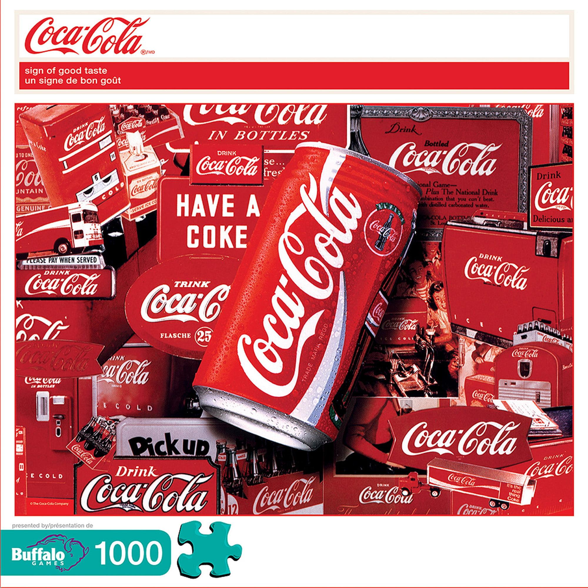 Coca Cola Sign of Good Taste Puzzle, 1000 Pieces