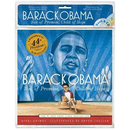 Barack Obama : Son of Promise, Child of Hope (Book and CD) - Barack Obama Masks